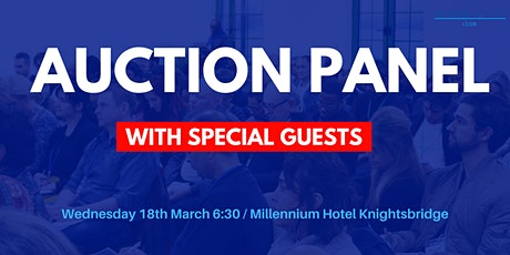 Auction Panel tickets