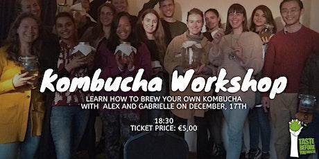 Brew your own Kombucha - Workshop March/20 tickets