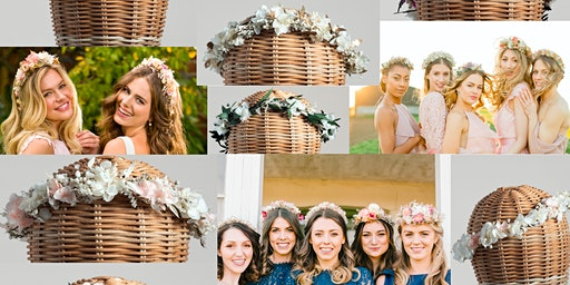 The Sessions at Storey Club:  Dried Floral Head Crowns