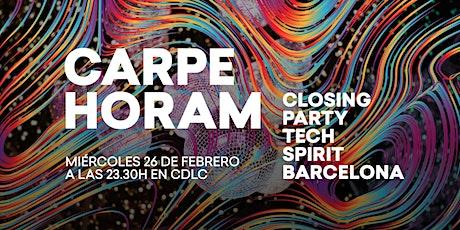 Carpe Horam - BYHOURS after party entradas