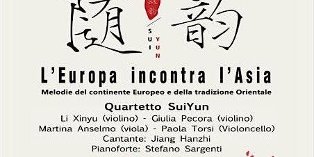 [ANNULLATO] L'Europa incontra l'Asia - Concerto