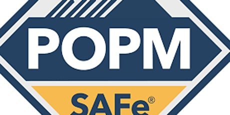 SAFe® Product Owner/ Product Manager (POPM)--Guaranteed to Run tickets