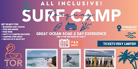 Surf Camp Party - Great Ocean Road tickets