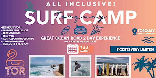 Surf Camp Party - Great Ocean Road