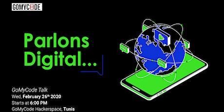 Parlons Digital tickets
