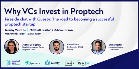 Why VCs Invest in Proptech tickets