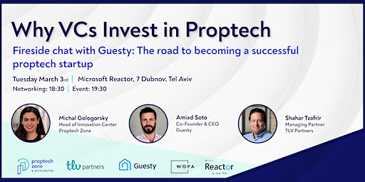 Why VCs Invest in Proptech