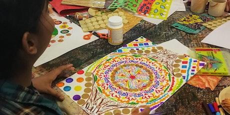 Family Art Workshop – Making Your Own Mandala Artwork tickets
