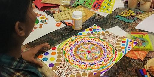 Family Art Workshop – Making Your Own Mandala Artwork