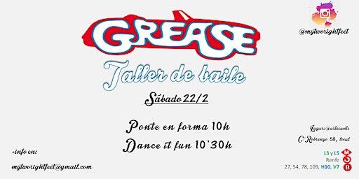 Grease - Taller de baile