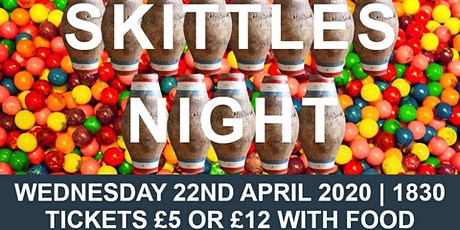 Skittles Evening fundraising for MYTime Young Carers & Waggy Tails Rescue tickets
