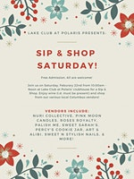 Sip & Shop Saturday