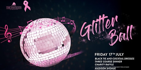 The Pink Ribbon Glitter Ball - Including 3 Course Dinner tickets