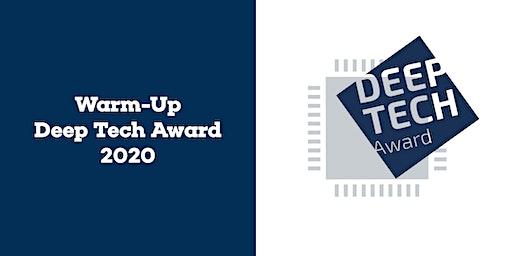 Warm-Up zum Deep Tech Award 2020