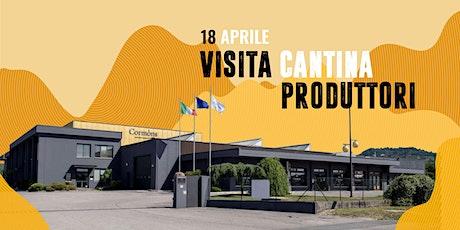 VISITA CANTINA PRODUTTORI tickets