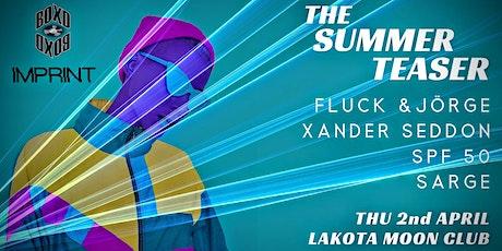 BOXD: The Summer Teaser tickets