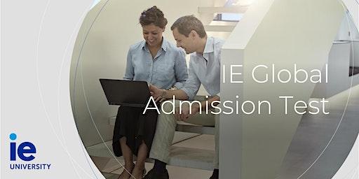 IE Global Admission Test - Bangalore