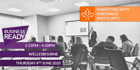 Marketing with Substance (not fluff!) tickets