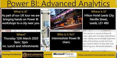 Power BI Advanced Analytics Hands on Workshop. UK Tour. Leeds. West Yorkshire. tickets