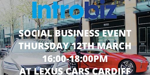 INTROBIZ & LEXUS BUSINESS NETWORKING SOCIAL