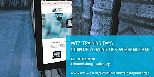 WTZ West Training Day: Quantifizierung der Wissenschaft