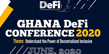 Ghana Decentralized Finance Conference 2020 tickets