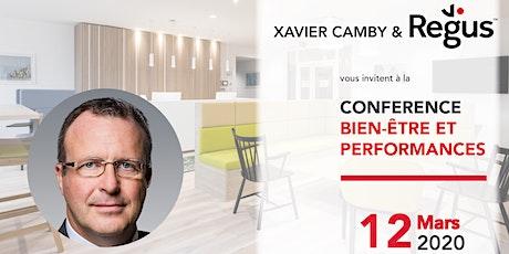 Conférence Bien-être et Performances avec Xavier Camby billets