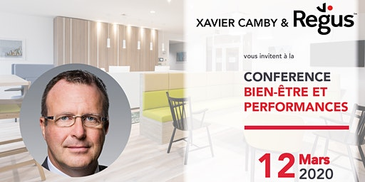 Conférence Bien-être et Performances avec Xavier Camby
