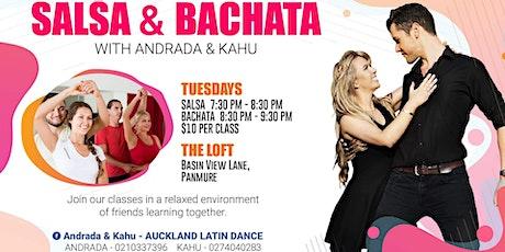 Salsa & Bachata Classes - A&K tickets
