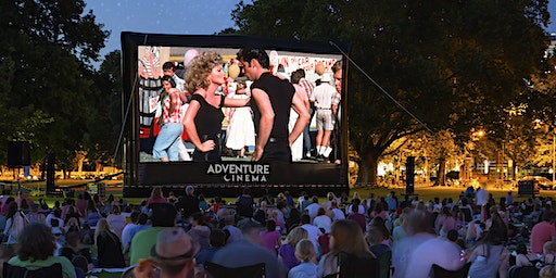 Grease Outdoor Cinema Sing-A-Long at East of England Arena in Peterborough