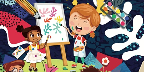 CANCELLED - Family Arts Workshop: Little Creatives at Hucknall Library tickets