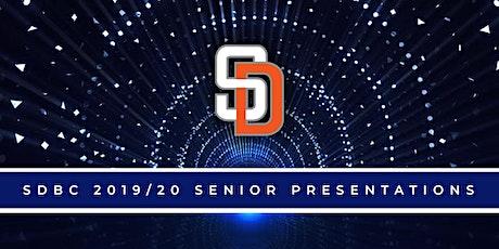 SDBC 2019/20 Senior Presentations tickets