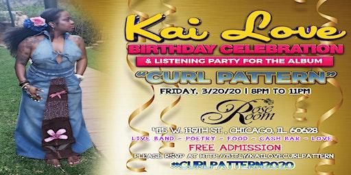 Kai Love Birthday Celebration and Album Listening Party