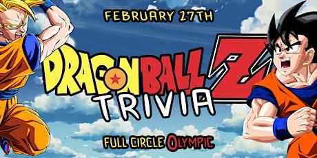 Dragon Ball Z Trivia Night tickets