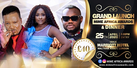 Mime Africa Awards Launch tickets