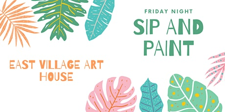 Friday Night Sip and Paint tickets