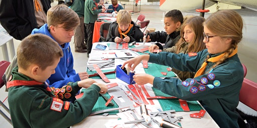 RAF Museum London - Scout Takeover Day!