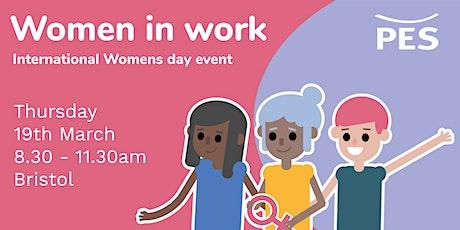 Women in Work - International Women's Day event  tickets