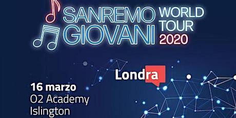 Sanremo Giovani World Tour 2020 tickets