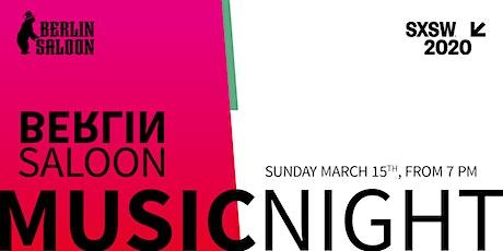 BerlinSaloon Music Night tickets