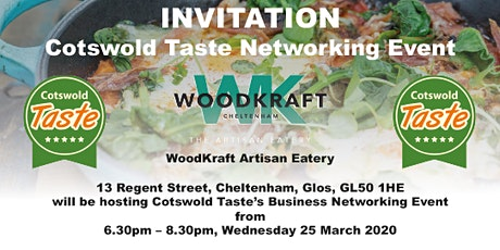 COTSWOLD TASTE NETWORKING EVENING tickets