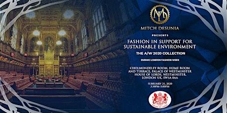 Copy of MITCH DESUNIA AW/2020 fashion show during LONDON FASHION WEEK tickets