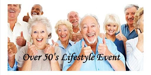Darlington Over 50's Lifestyle Event
