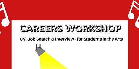 Careers Worksop for Students In the Arts tickets