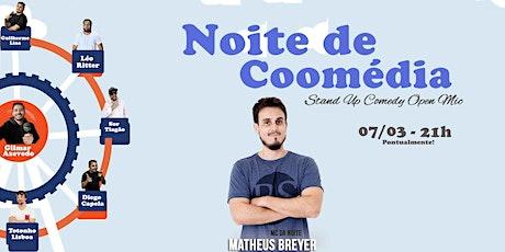 Coomédia e Matheus Breyer ingressos
