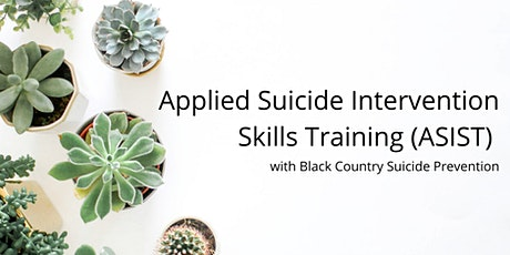 Applied Suicide Intervention Skills Training (ASIST) in Dudley tickets