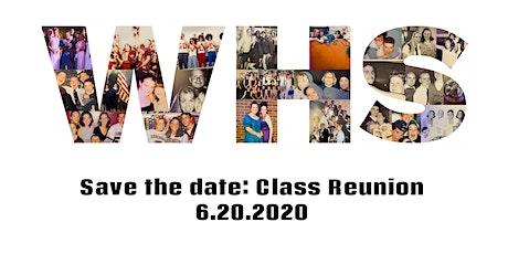 CLASS OF 2000 20TH CLASS REUNION tickets