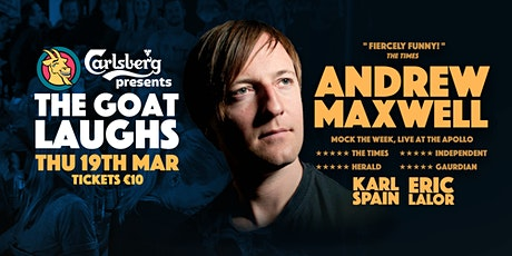 The Goat Laughs w/  Andrew Maxwell Comedy Night tickets