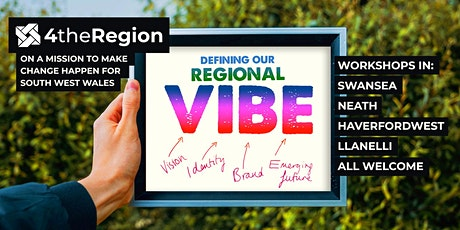 Regional VIBE Workshop - Carmarthen tickets