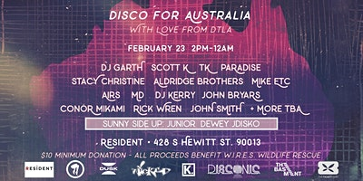 DISCO for AUSTRALIA: With Love from DTLA